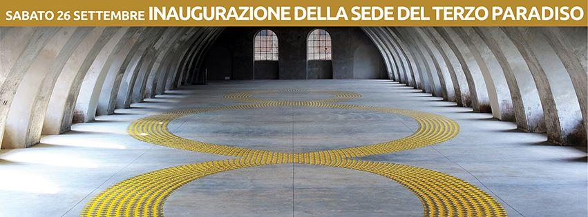 terzo paradiso opera di Michelangelo Pistoletto